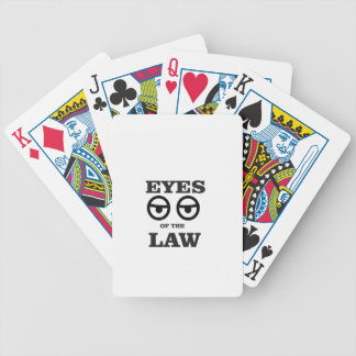 eyes of the law yeah poker deck