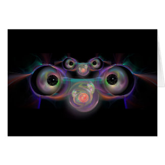 Eyes on the Baby Greeting and Note Card
