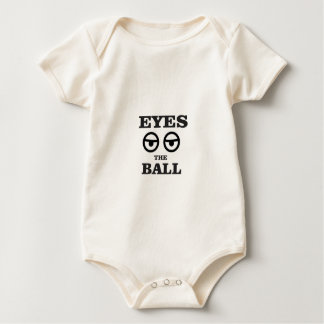 eyes on the ball baby bodysuit