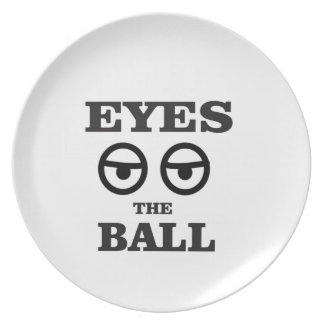 eyes on the ball plate