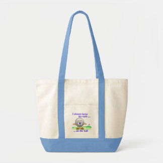 Eyes on the Ball Tote Bag