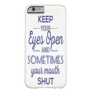 eyes open barely there iPhone 6 case