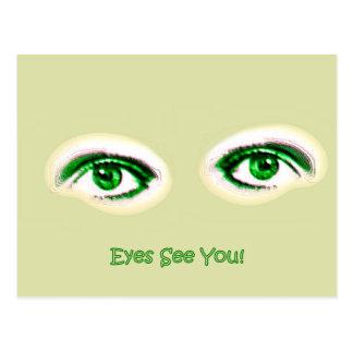 Eyes See You! Postcard