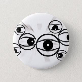 eyes that watch everywhere 2 inch round button