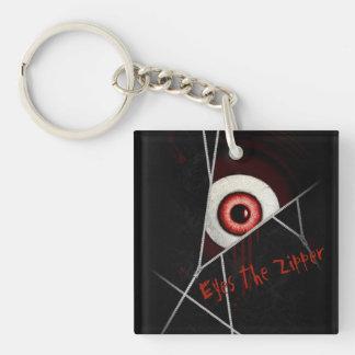 Eyes The Zipper Keychain