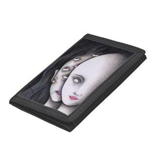 Eyes Tri-fold Wallets