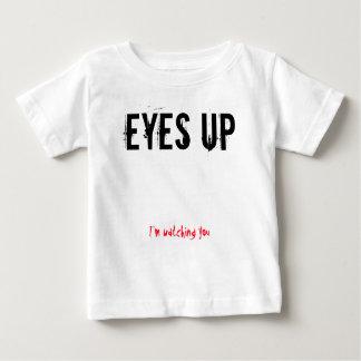 Eyes up baby shirt