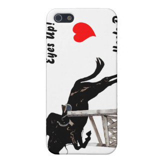 Eyes Up! Heels Down! Equestrian  Cover For iPhone 5/5S