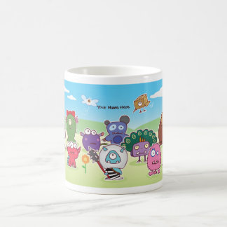 eyesore monsters group mug