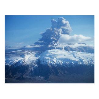 Eyjafjallajökull Volcanic Eruption Iceland Postcard