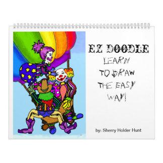 EZ Doodle - Draw on me..... Calendar