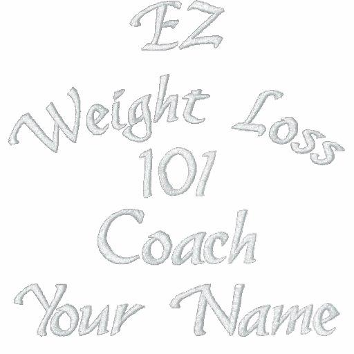 EZ Weight Loss Coach Shirt Polo