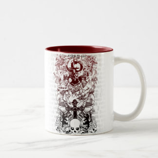 Ezekiel 37 Two-Tone coffee mug