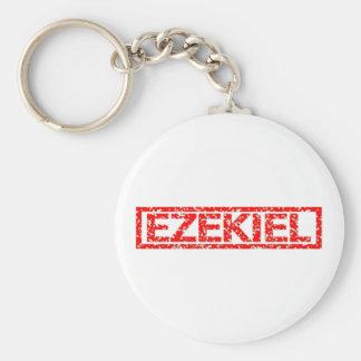Ezekiel Stamp Keychain