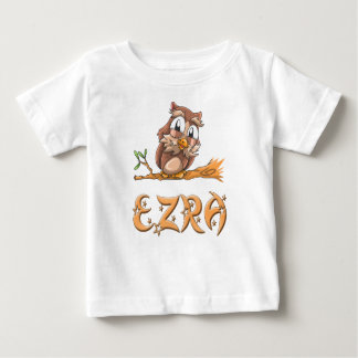 Ezra Owl Baby T-Shirt