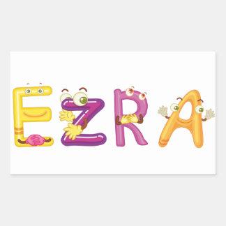 Ezra Sticker