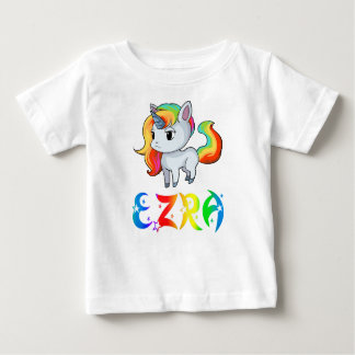 Ezra Unicorn Baby T-Shirt