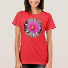 F0029w Ball Cactus Flower (escobaria vivipara) T-Shirt