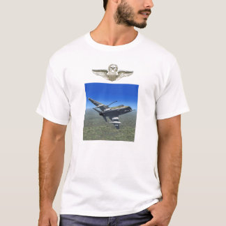 F100 Super Sabre Fighter Plane T-shirt