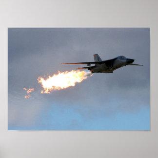 F111 Dump & Burn Poster