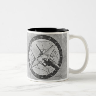 F15 pencil drawing coffee mug