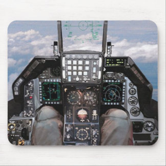 f16 cockpit mouse pad