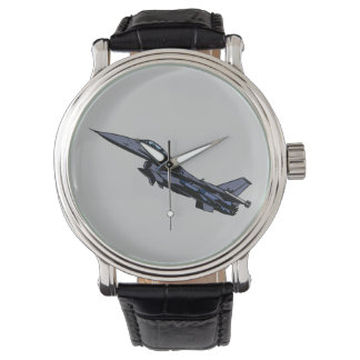F16 Fighting Falcon Fighter Jet Aircraft Airforce Watch
