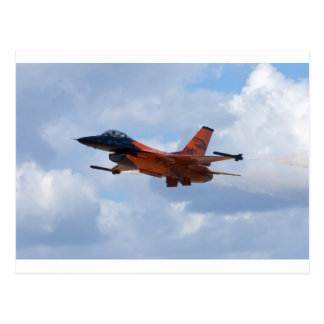 F16 Fighting Falcon Postcard