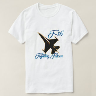 F16 Fighting Falcon Silhouette T-Shirt