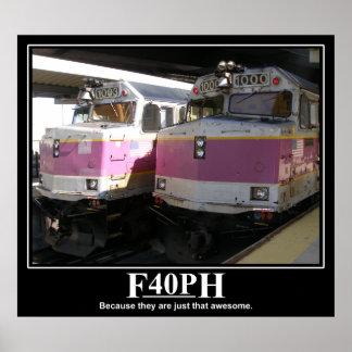 F40PH Poster
