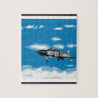 F4 Phantom  Navy Jet Fighter Jigsaw Puzzle