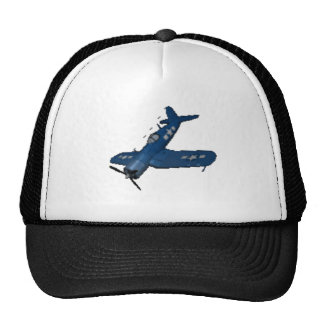 F4U4 CORSAIR IN A DIVE TRUCKER HAT