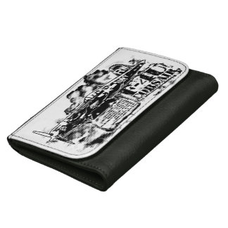 F4U CORSAIR Medium Leather Wallet Photo Wallet