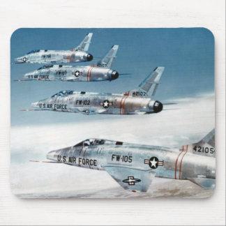 F-100 Super Sabre Mouse Pad
