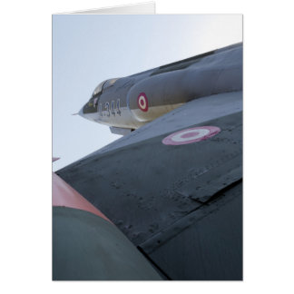 F-104 Fighter Jet Card