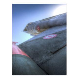 F-104 Fighter Jet Postcard