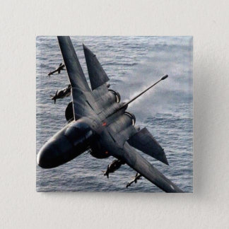 F-111 Aardvark 2 Inch Square Button