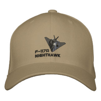 F-117A Nighthawk Embroidered Hats