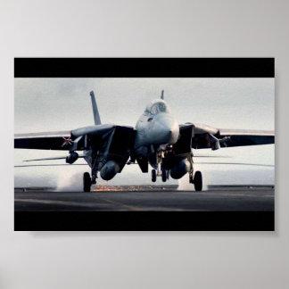F-14 Landind Poster