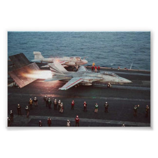 F-14 Takeoff Poster