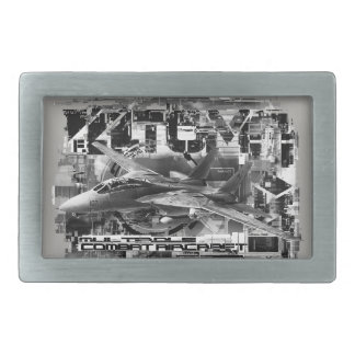 F-14 Tomcat Pewter Belt Buckle