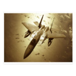 F-15 Eagle Jet Fighter Postcard