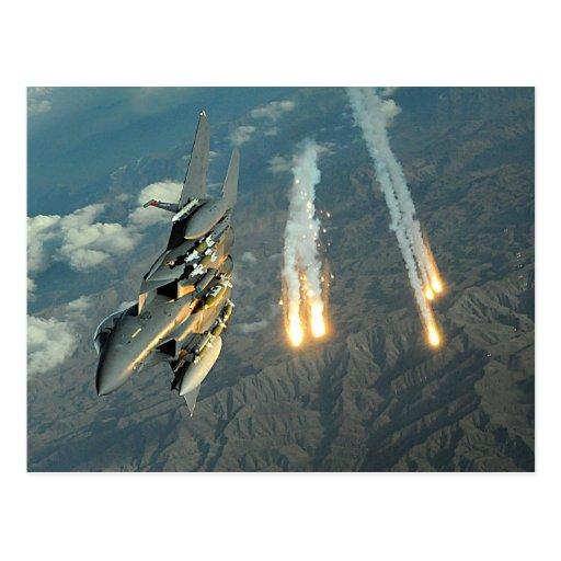 F-15 Eagle Postcard