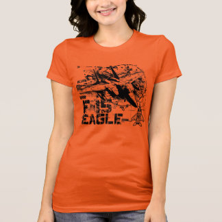 F-15 Eagle Women's Bella Favorite Jersey T-Shirt