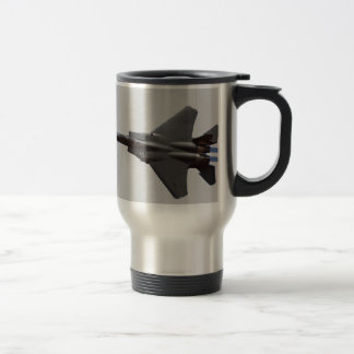 F-15 Jet Fighter Travel Mug