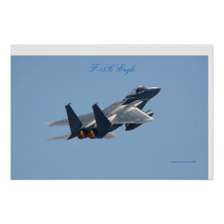 F-15C Eagle Poster