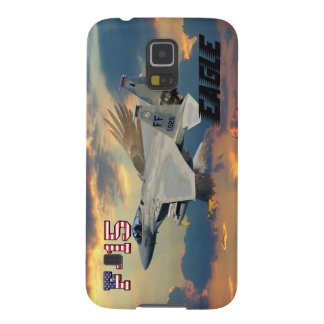 F-15C Eagle Sunset Case For Galaxy S5