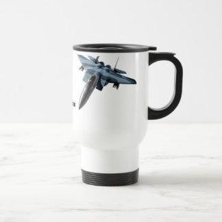 F-15C Over Alaska Drinkware Travel Mug