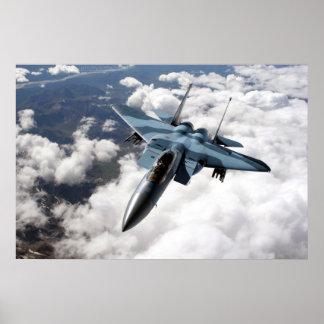 F-15C Over Alaska Poster