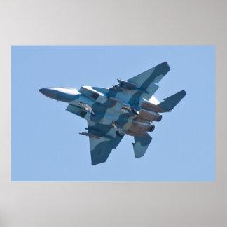 F-15D Eagle WA AF 80 0058 Banking Poster